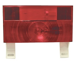 (10417) PETERSON SURFACE MOUNT TAIL LIGHT WITHOUT BACK UP, WITH LICENSE PLATE BRACKET