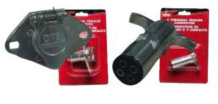 4-WAY ZINC HEAVY-DUTY TRAILER CONNECTORS