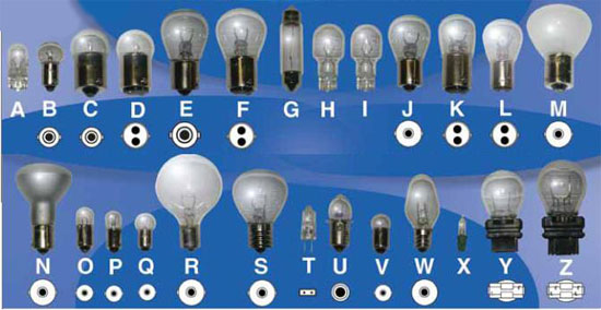 CP PRODUCTS INCANDESCENT LIGHT BULBS