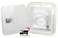 J.R. PRODUCTS GRAVITY WATER HATCH