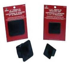 HUSKY BLACK PRESS-IN RECEIVER CAPS