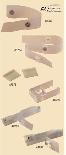 Window Covering Accessories Tape Tab Curtain Kit
