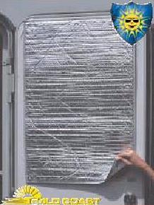 Sunshield Thermal Door Window Cover
