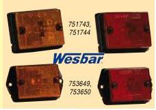 WESBAR DELUXE SIDE MARKER LIGHTS