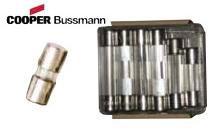 BUSSMANN GLASS TUBE FUSES