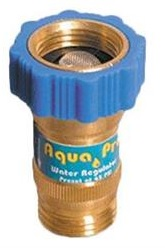 Fresh water pressure regulator