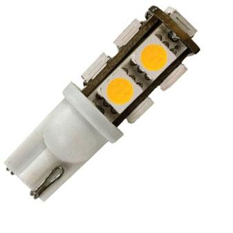 LED BULB #921 - 9 LED SOFT WHITE