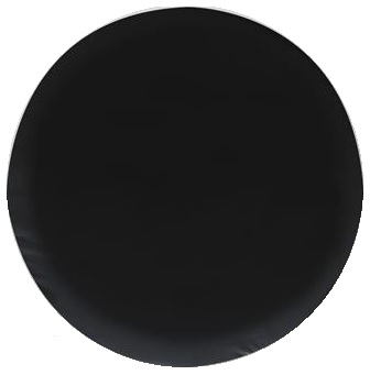 SPARE TIRE COVERS - BLACK