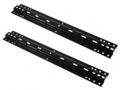 Husky universal base rails for fifth wheel hitches