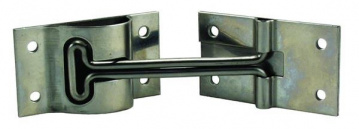 Stainless steel door hold back