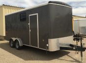 (R22) 7' X 18' TANDEM AXLE ENCLOSED TRAILER