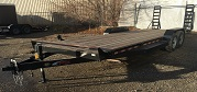 (R10) 7' X 24' (22' + 2' DOVETAIL) TANDEM AXLE FLATBED EQUIPMENT