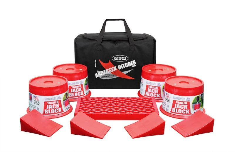 ULTIMATE TRAILER JACK BLOCK BAG, 9-PC KIT