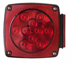 LED stop, turn, and tail light.