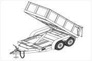 5' x 10' Hydraulic Dump Trailer Plans