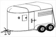 Two horse trailer plans