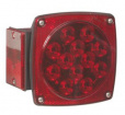 Square LED stop, turn, and tail light