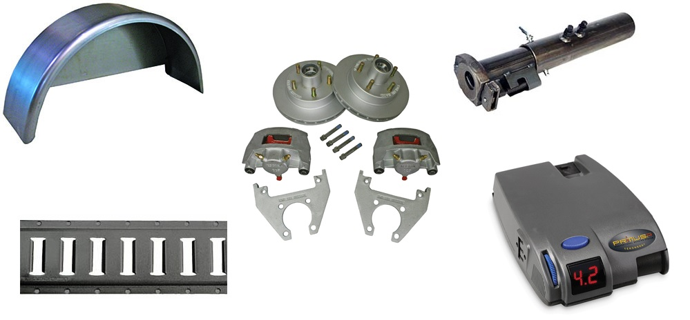 Trailer parts for all trailers.