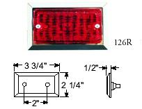 RECTANGULAR CLEARANCE/SIDEMARKER LIGHT