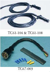 6 AND 7 POLE MOLDED TRAILER CORD