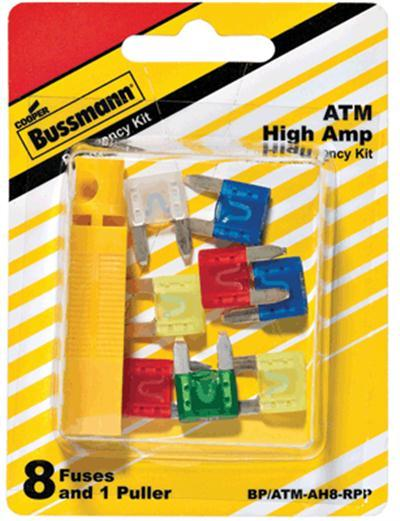 (50256) ATM MINI FUSE ASSORTMENT - INCLUDES 10,15,20,25,30, AND 40 AMP FUSES & FUSE PULLER