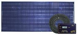 GO POWER GP-RV-80 80 WATT SOLAR CHARGER KIT (TJ14417)