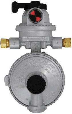 AUTOMATIC CHANGEOVER TWO-STAGE REGULATOR