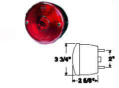 STUD MOUNT STOP, TURN AND TAIL LIGHT