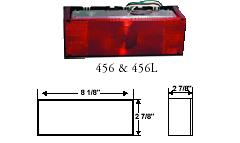 SURFACE MOUNT SEALED LOW PROFILE TAIL LIGHT