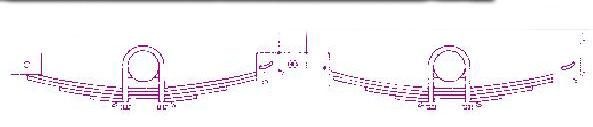 (THK36-KIT) TANDEM AXLE HANGER KITS FOR 2